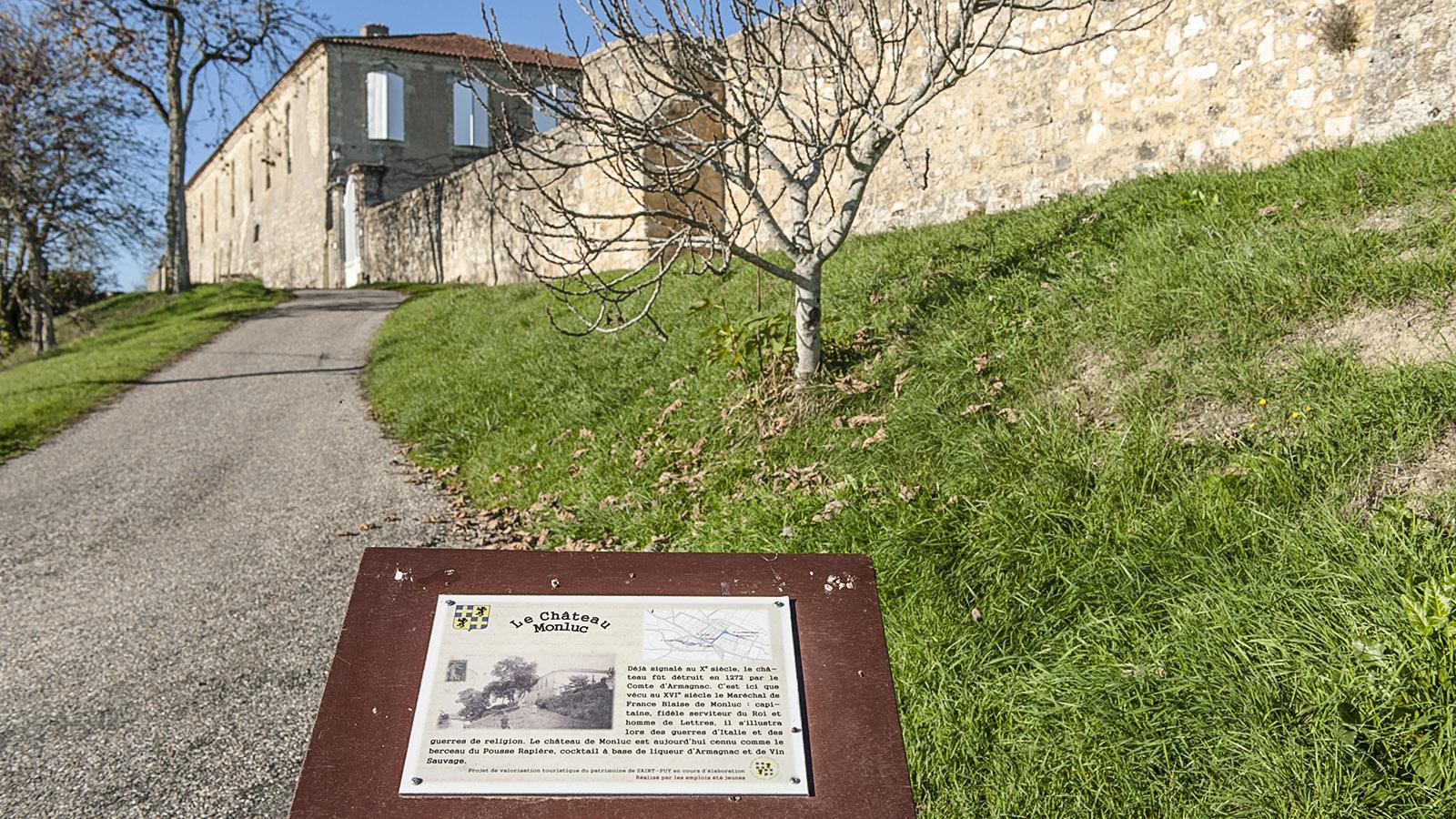 Saint-Puy: Château de Monluc. Foto: Hilke Maunder