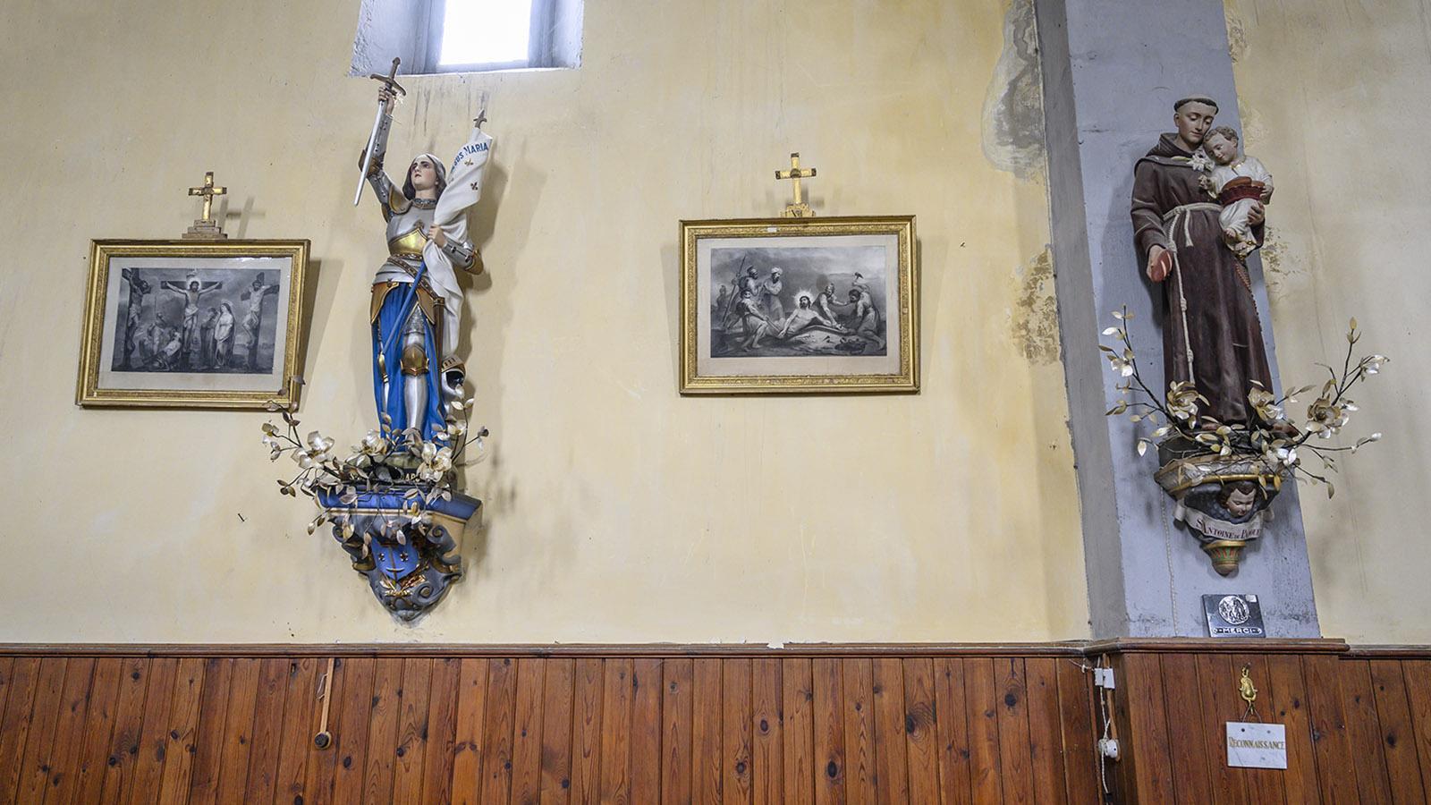 La Serpent: Die Pfarrkirche ist Saint-Étienne geweiht. Foto: Hilke Maunder