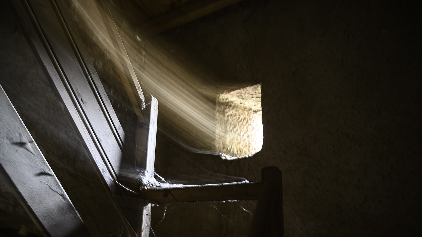 Im Kirchturm von La Serpent. Foto: Hilke Maunder