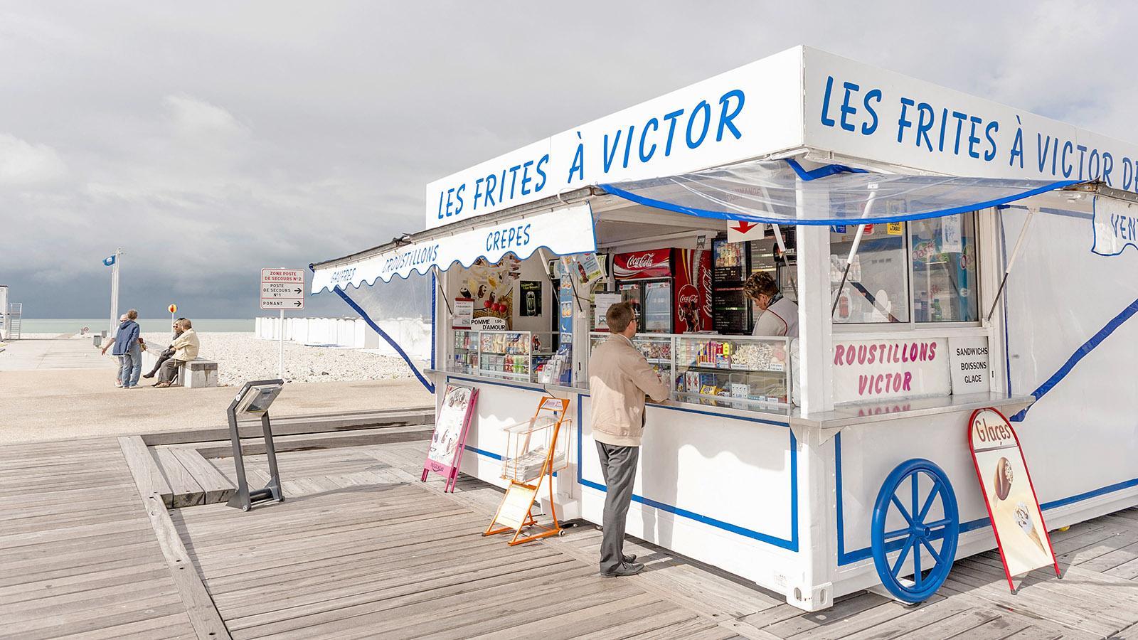 Le Havre: Frites à Victor. Foto: Hilke Maunder