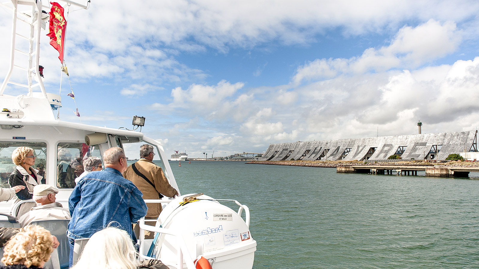 Le Havre: Hafenrundfahrt. Foto: Hilke Maunder