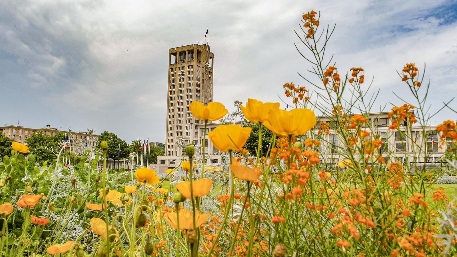 Le Havre: Hôtel de ville. Foto: Hilke Maunder