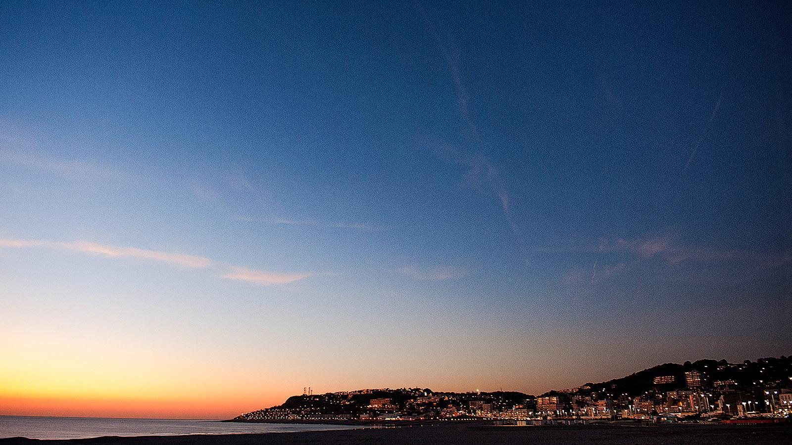 Blick von Le Havre auf Sainte-Adresse. Foto: Hilke Maunder