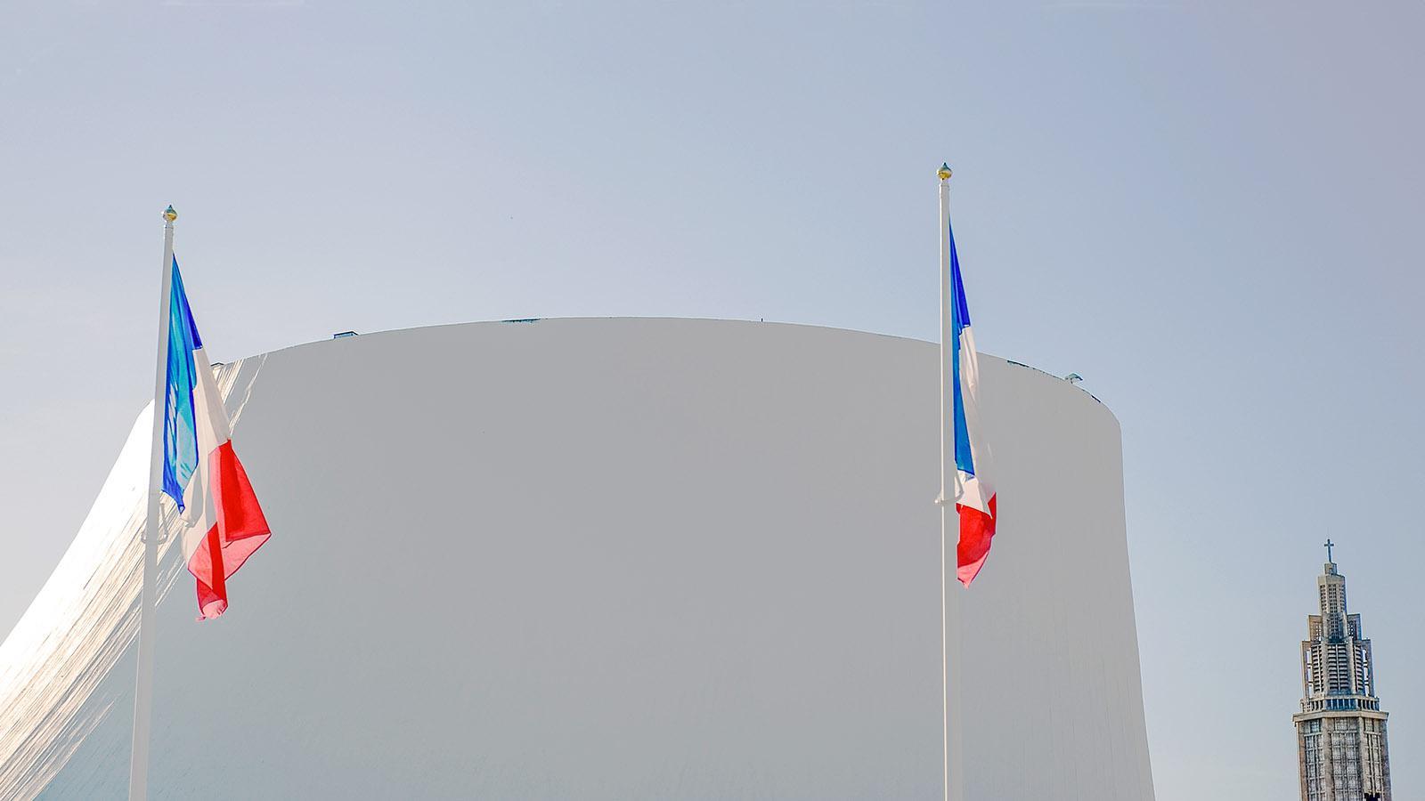 Le Havre: Grand Volcan und Saint-Joseph. Foto: Hilke Maunder