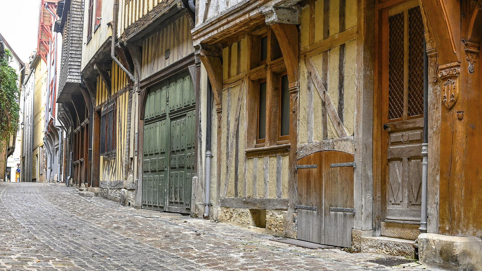 """Die mittelalterliche """"bourg"""" von Troyes. Foto: Hilke Maunder"""