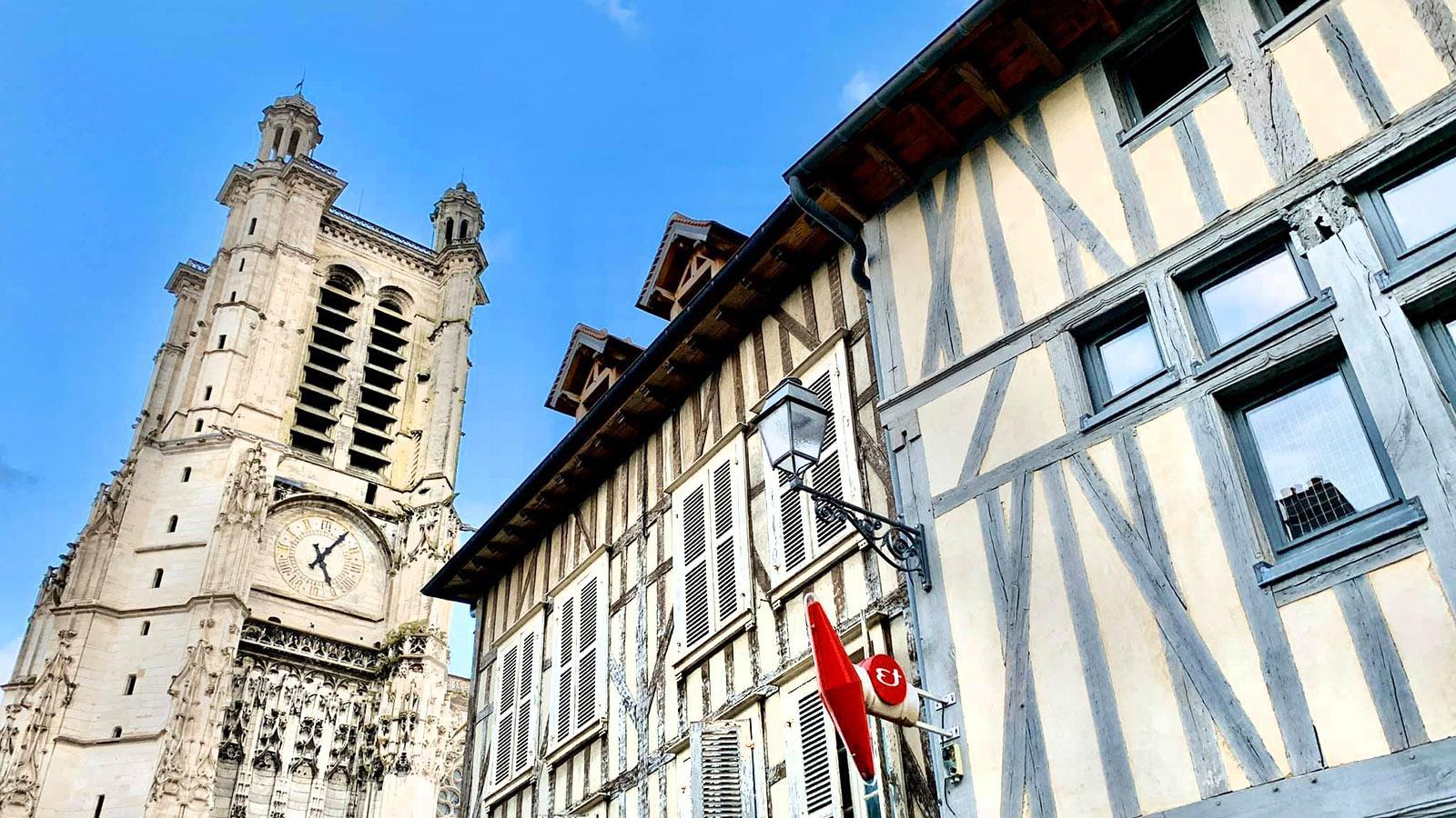 Im Kathedralviertel von Troyes. Foto: Hilke Maunder