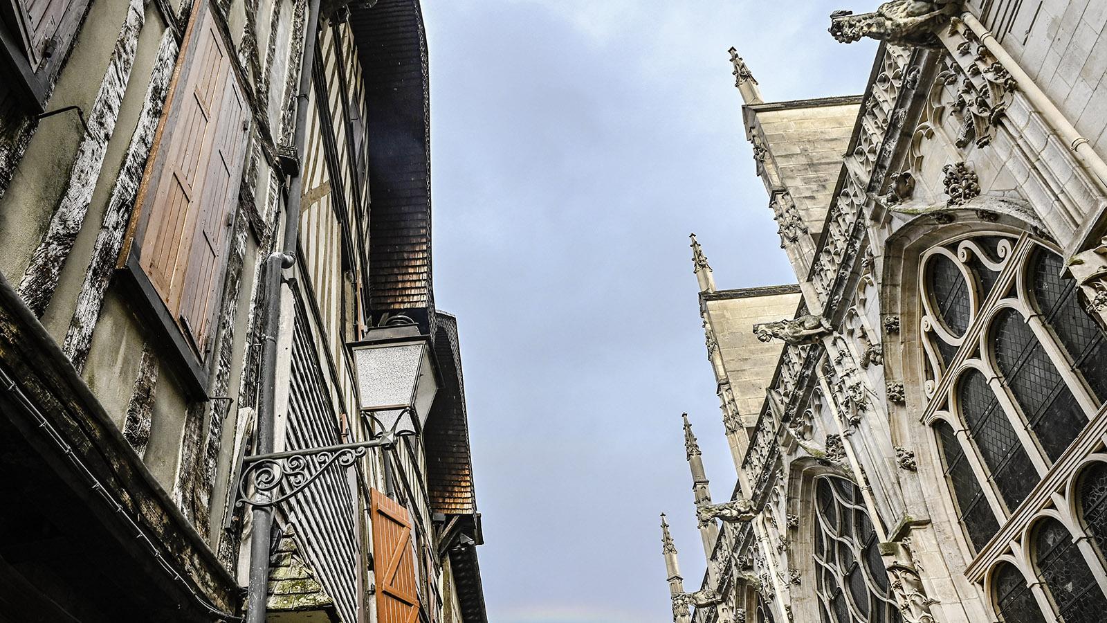 Troyes : Rue des Chats. Foto: Hilke Maunder