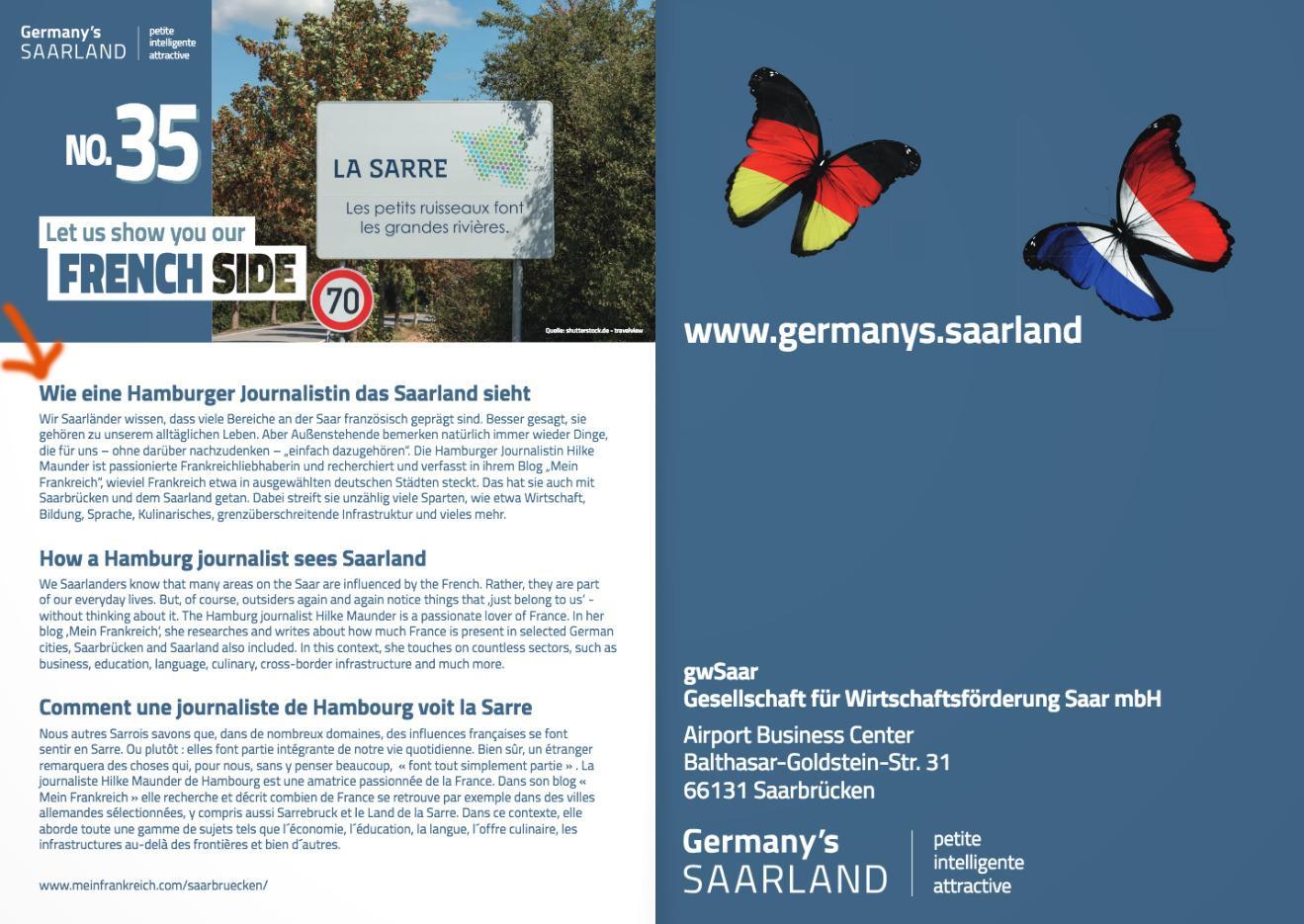 Empfehlung Mein Frankreich Saarland