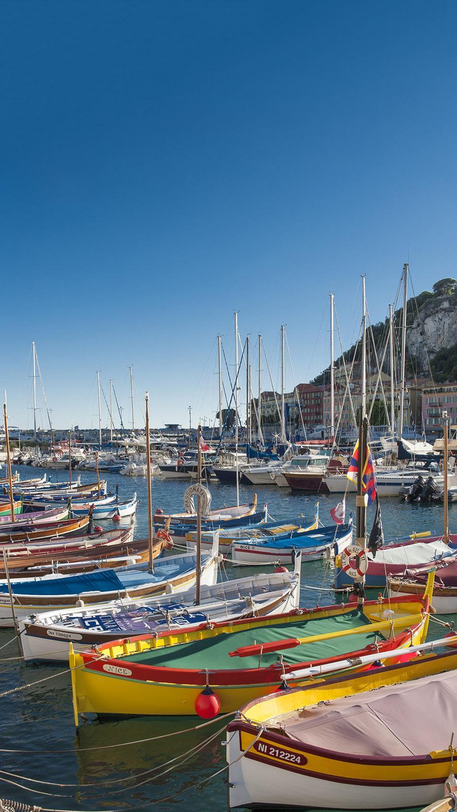 Der Hafen von Nizza. Foto: Hilke Maunder