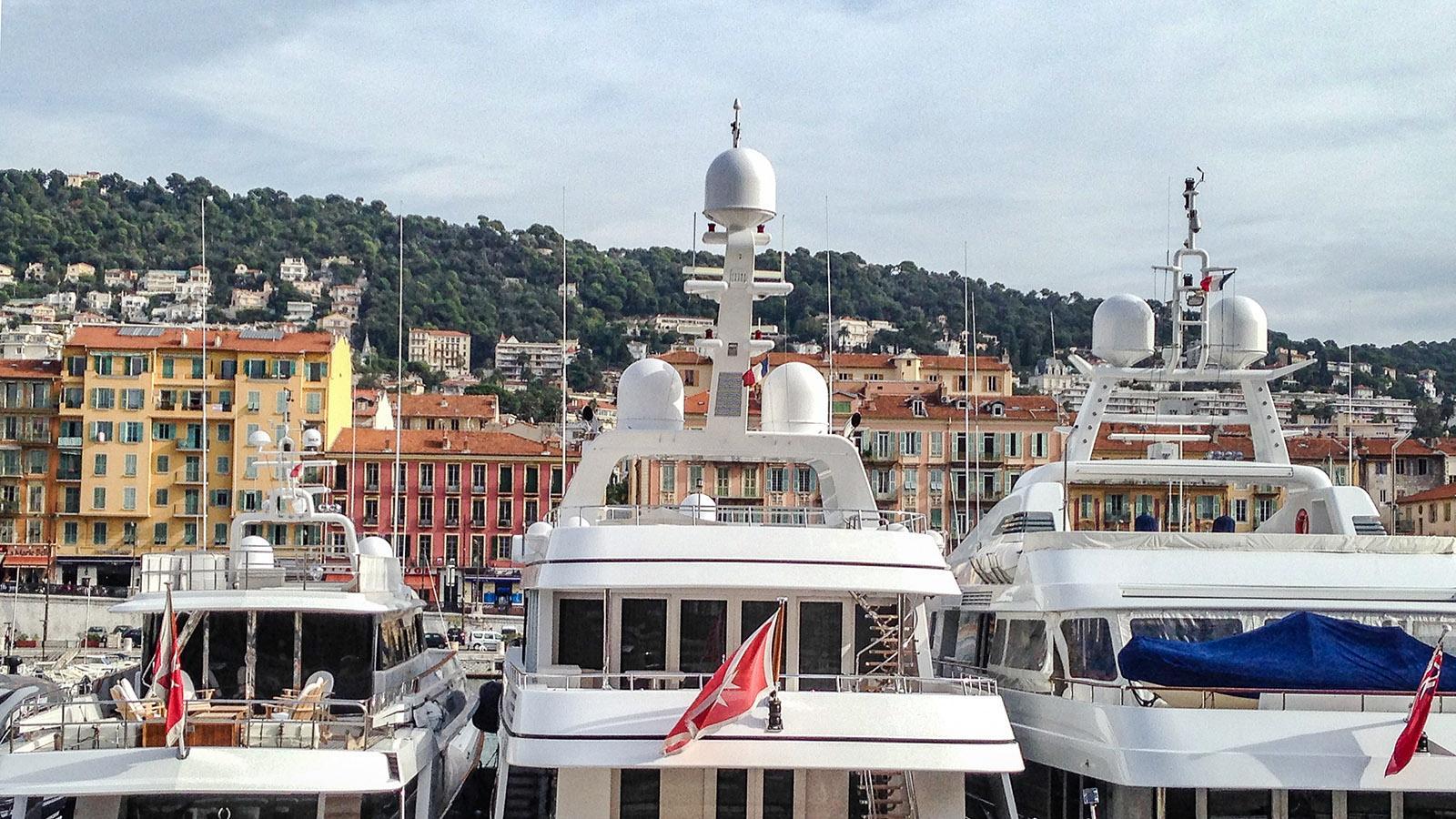 Der Hafen von Nizza. Foto: Hilk Maunder