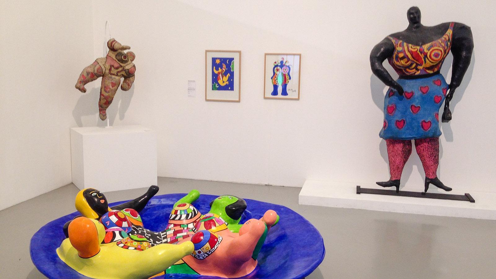 Nizza: Im MAMAC ausgestellt: Niki de Saint Phalle. Foto: Hilke Maunder