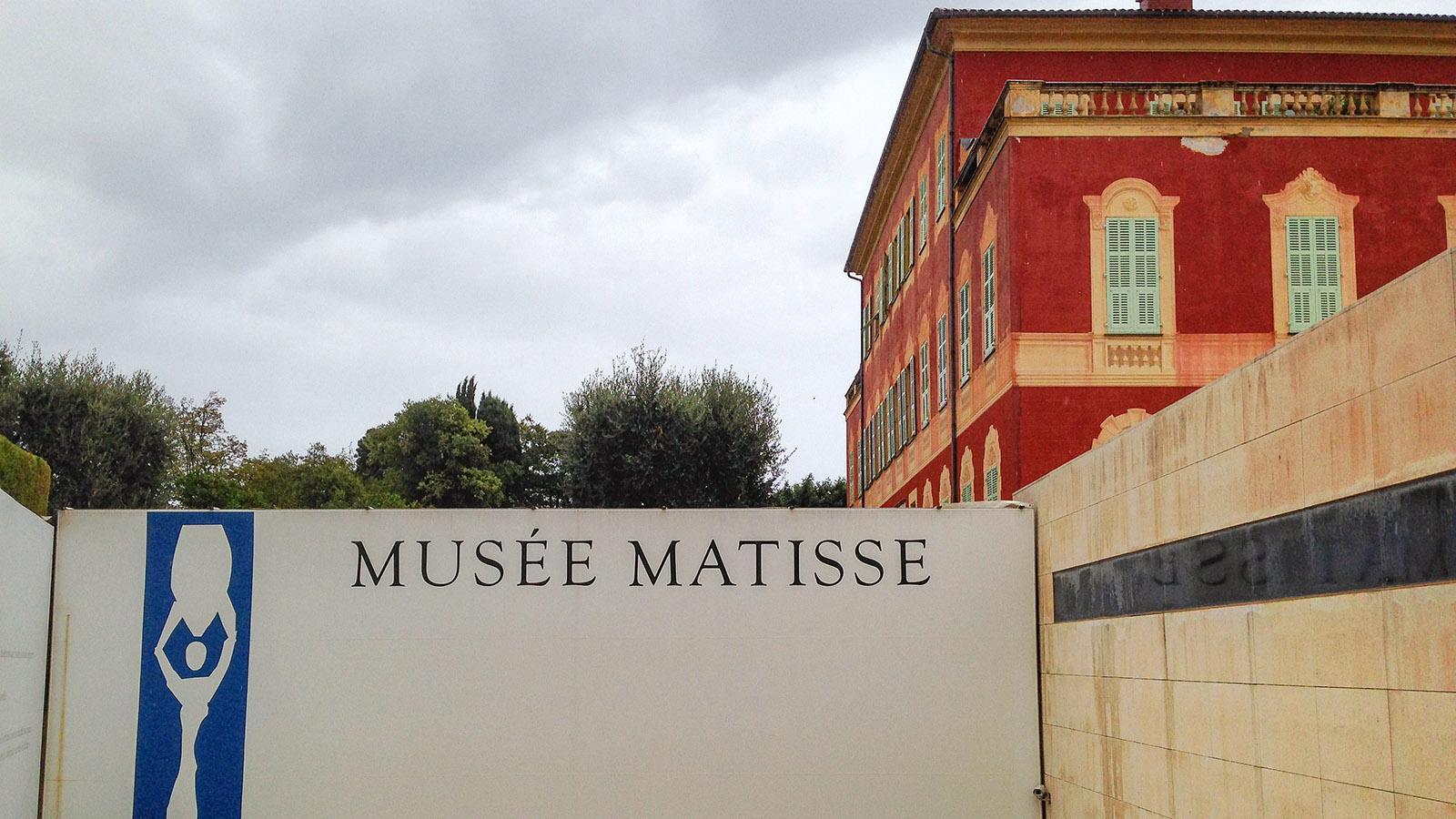 Das Musée Matisse von Nizza. Foto: Hilke Maunder