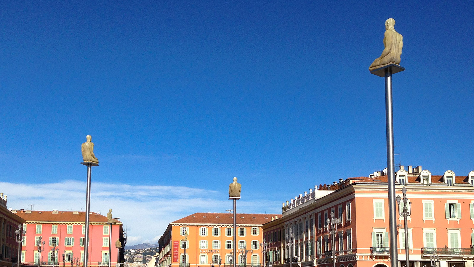 Nizza: Place Masséna. Foto: Hilke Maunder