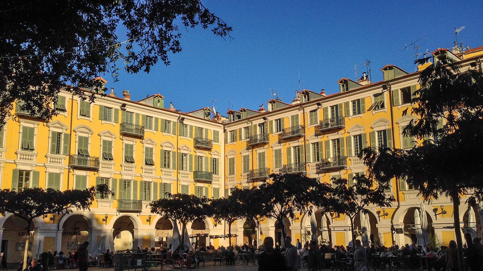 Nizza: Place Garibaldi. Foto: Hilke Maunder