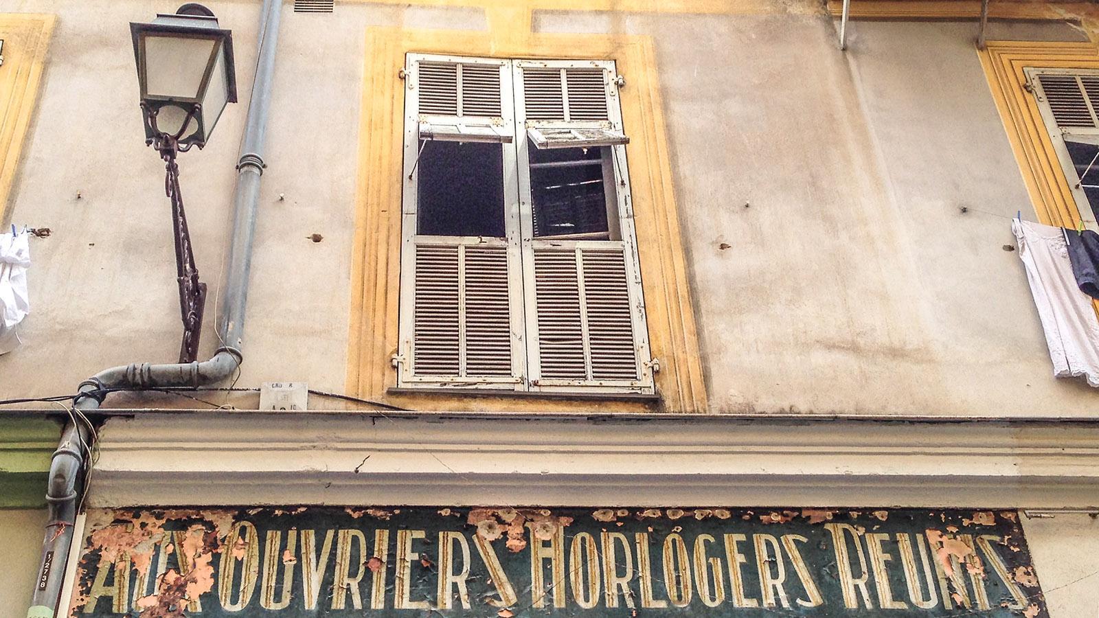 In der Altstadt von Nizza. Foto: Hilke Maunder