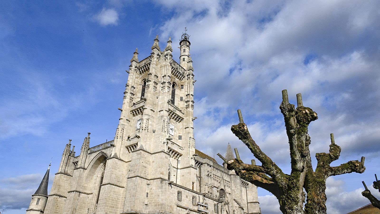 Die Abteikirche von La Chaise-Dieu. Foto: Hilke Maunder