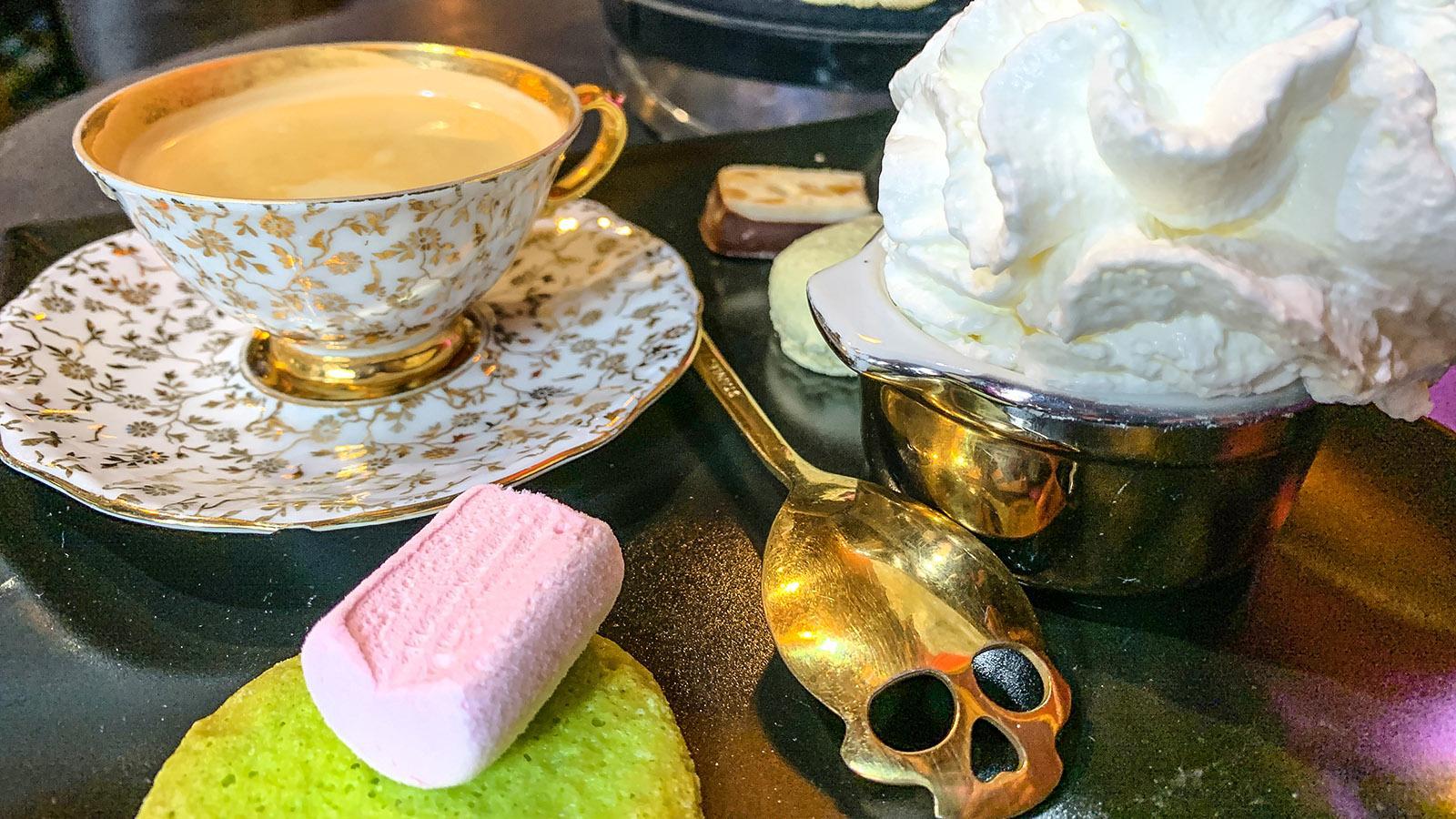 La Chaise Dieu: Café-Escape Room Symbialis. Foto: Hilke Maunder