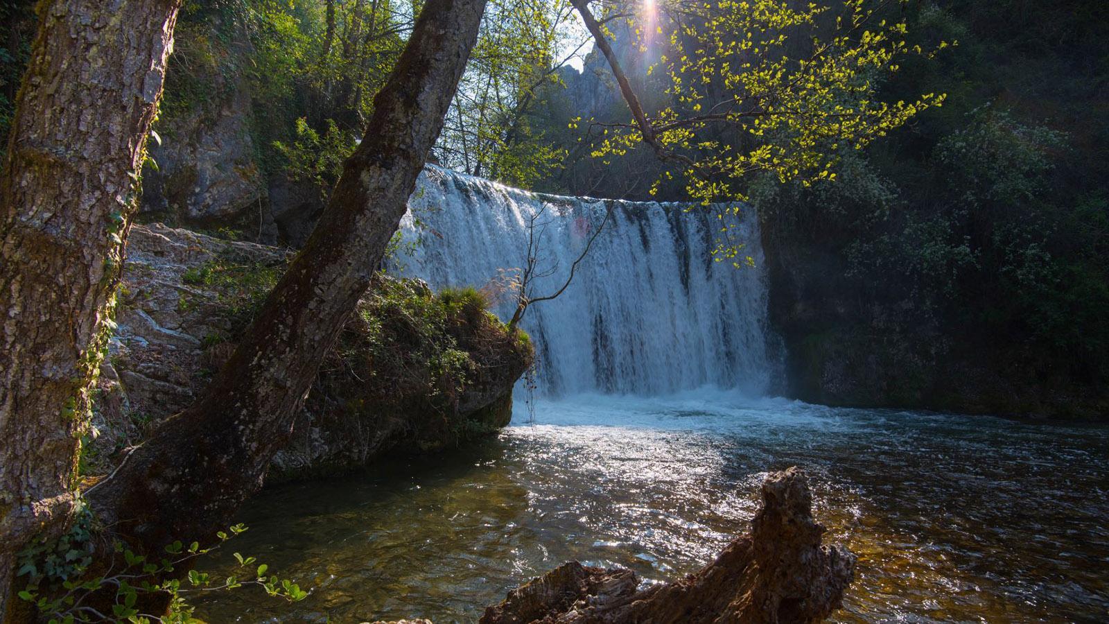 Die Cascade Blanche im Vercors. Foto: Hilke Maunder
