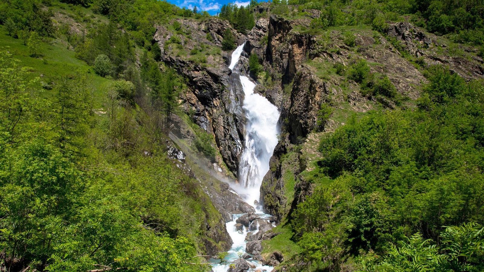 Der Wasserfall von Dormillouse. Foto: Tanja Midgartson