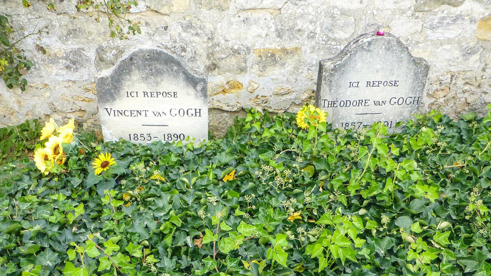 Das Grab von Vincent van Gogh. Foto: Uschi Hennen