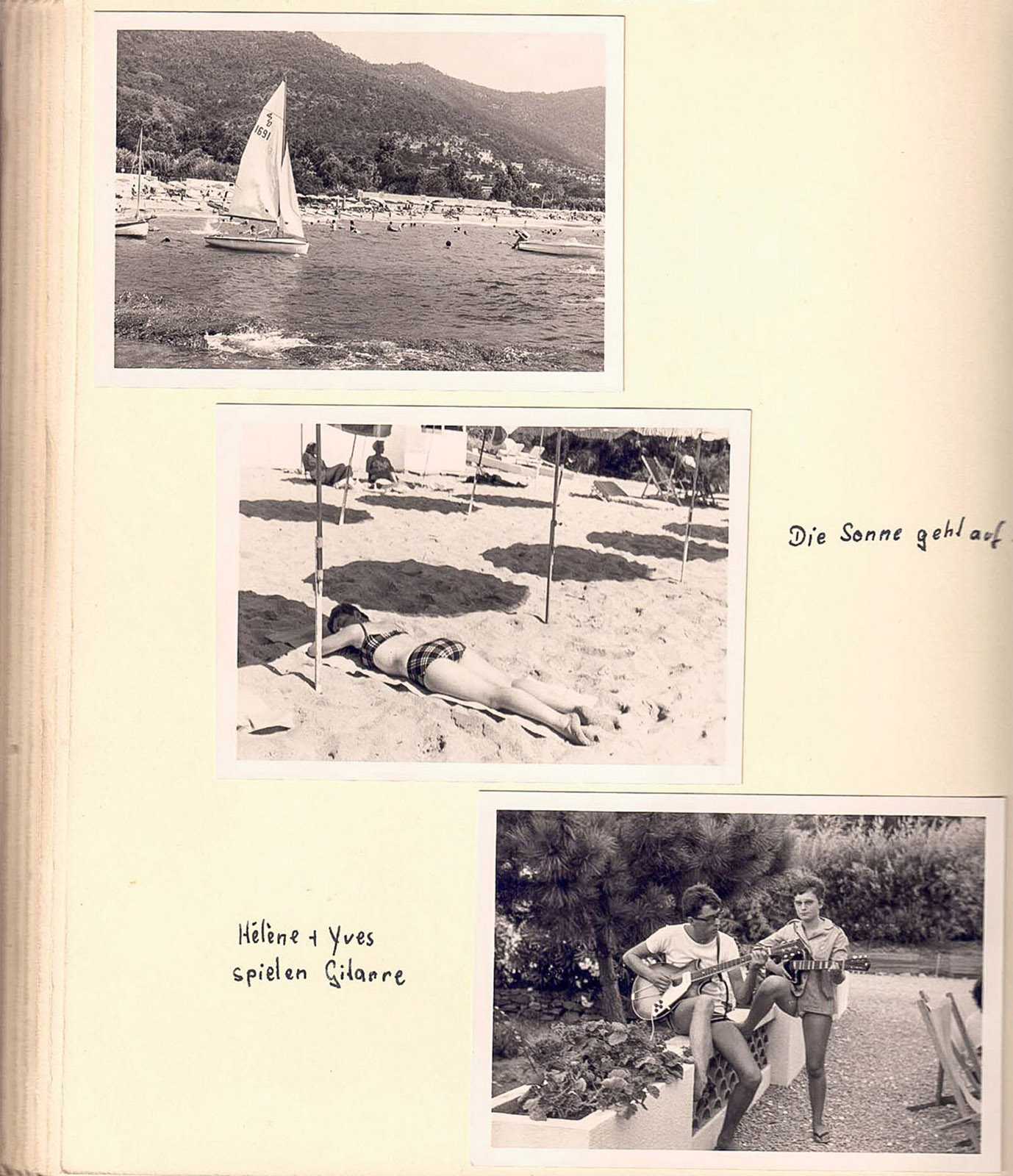 Brita Beate Link: im Fotoalbum geblättert. Fotos: privat
