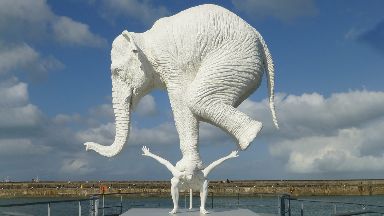 Der Elefant von Le Havre. Foto: Uschi Hennen
