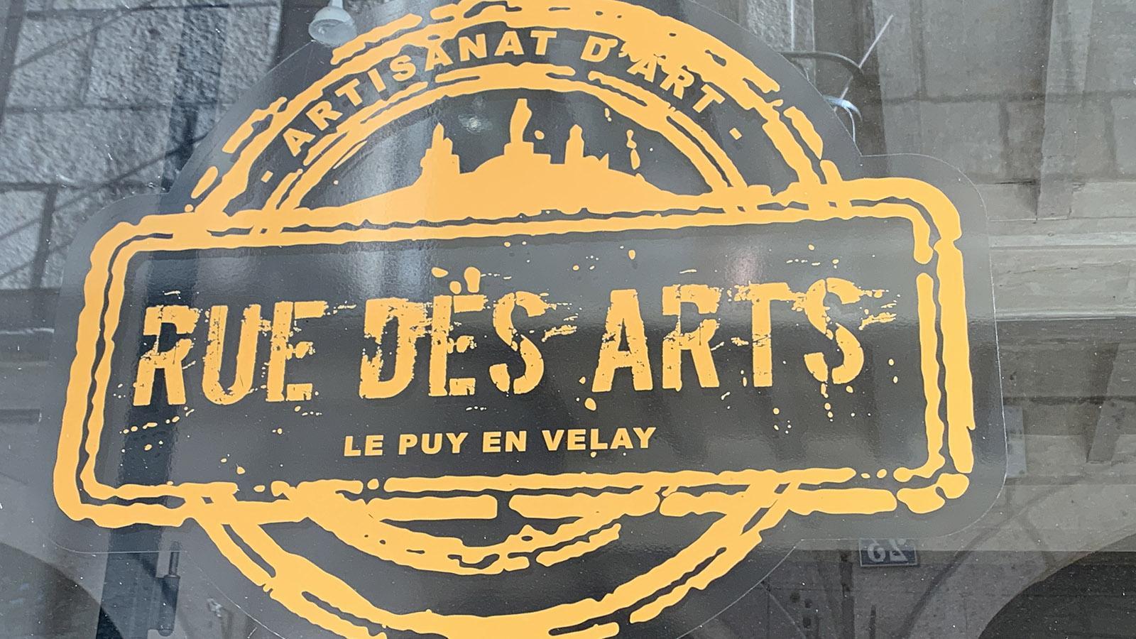 Le Puy-en-Velay: Rue des Arts. Foto: Hilke Maunder