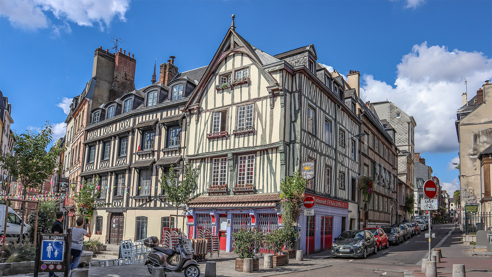 In Rouen. Foto: Hilke Maunder