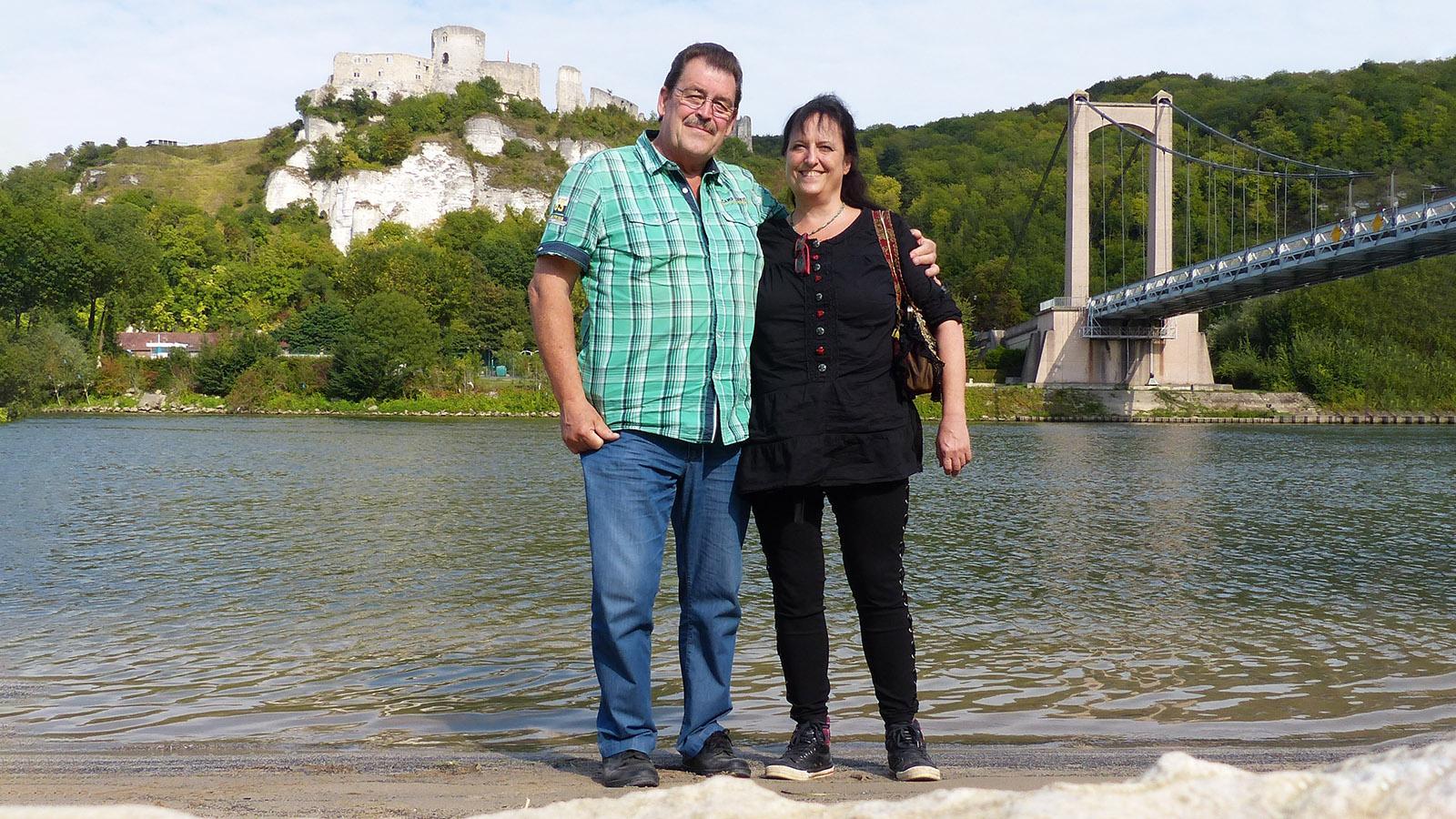Uschi Hennen mit ihrem Mann Ludger. Foto: privat