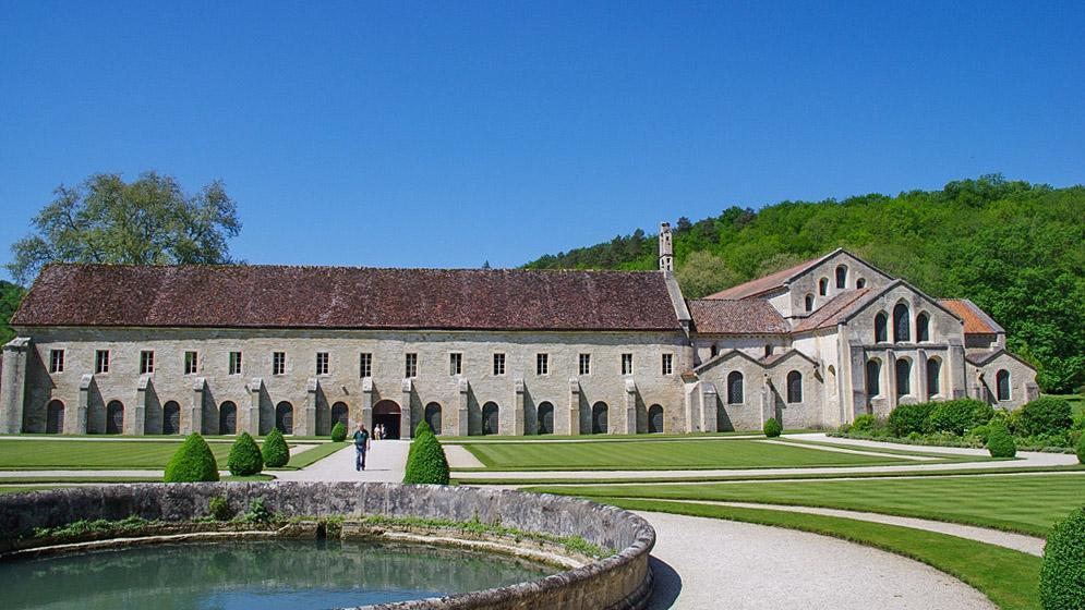 Die Klosteranlage von Fontenay. Foto: Werner Münzel
