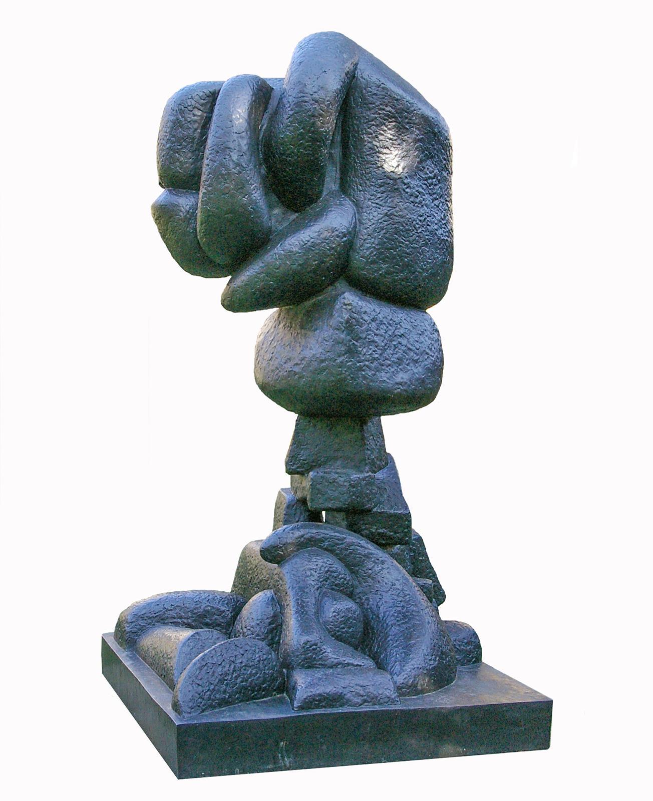 Otto Freundlich: Ascension, 1929 Bronze, 1929, 200 x 104 x 104 cm Musée de Pontoise, Donation Freundlich © Musée de Pontoise