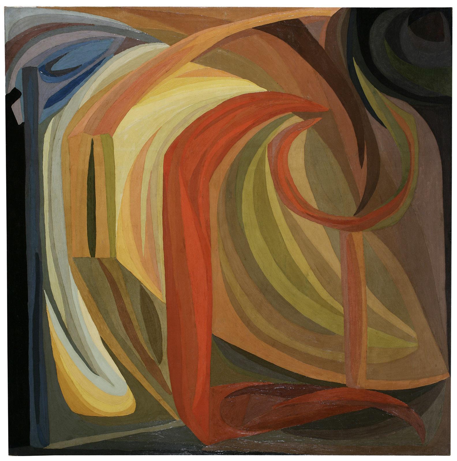 Composition, 1911 Huile sur toile, 200 x 200 cm Musée d'Art moderne de la Ville de Paris © Paris musées