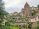 Blicl auf Semur-en-Auxois vom Armancon. Foto: Werner Münzel