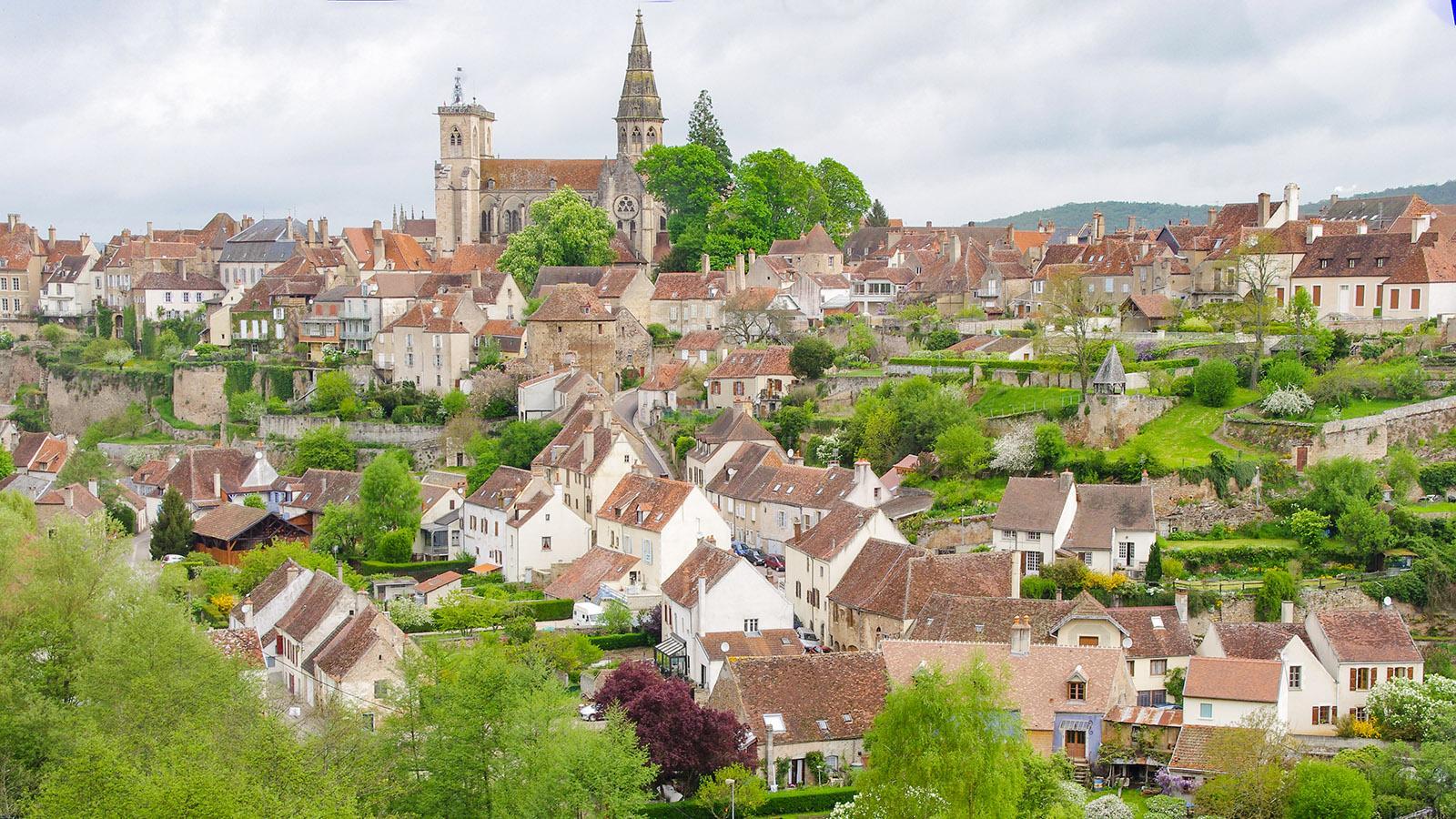 Semur-en-Auxois. Foto: Werner Münzel