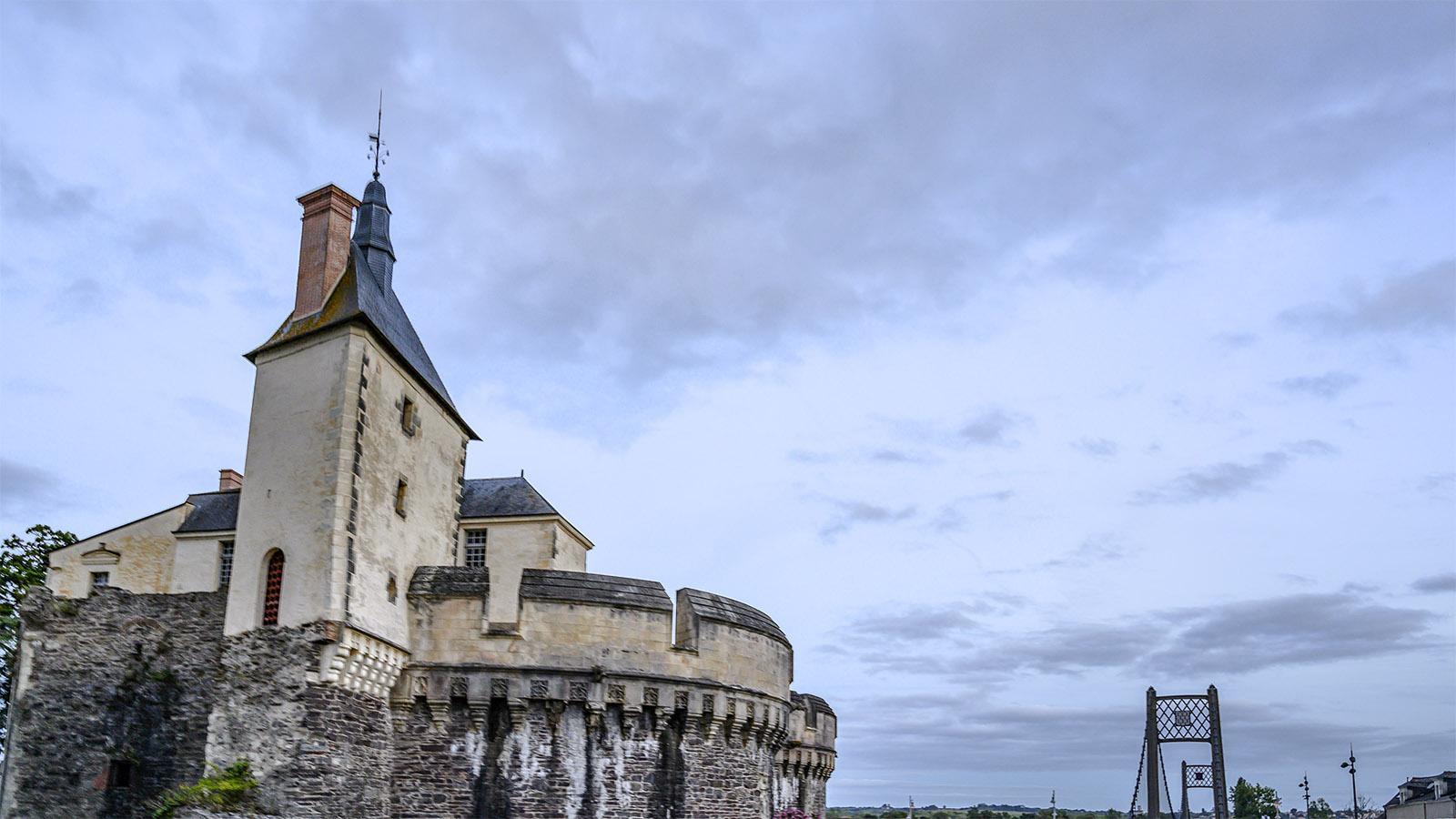 Château d'Ancenis. Foto: Hilke Maunder
