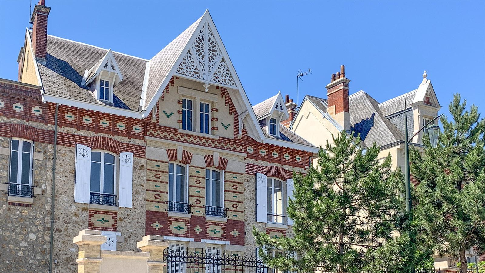 Épernay: Schmucke Villa an der Avenue de Champagne. Foto: Hilke Maunder