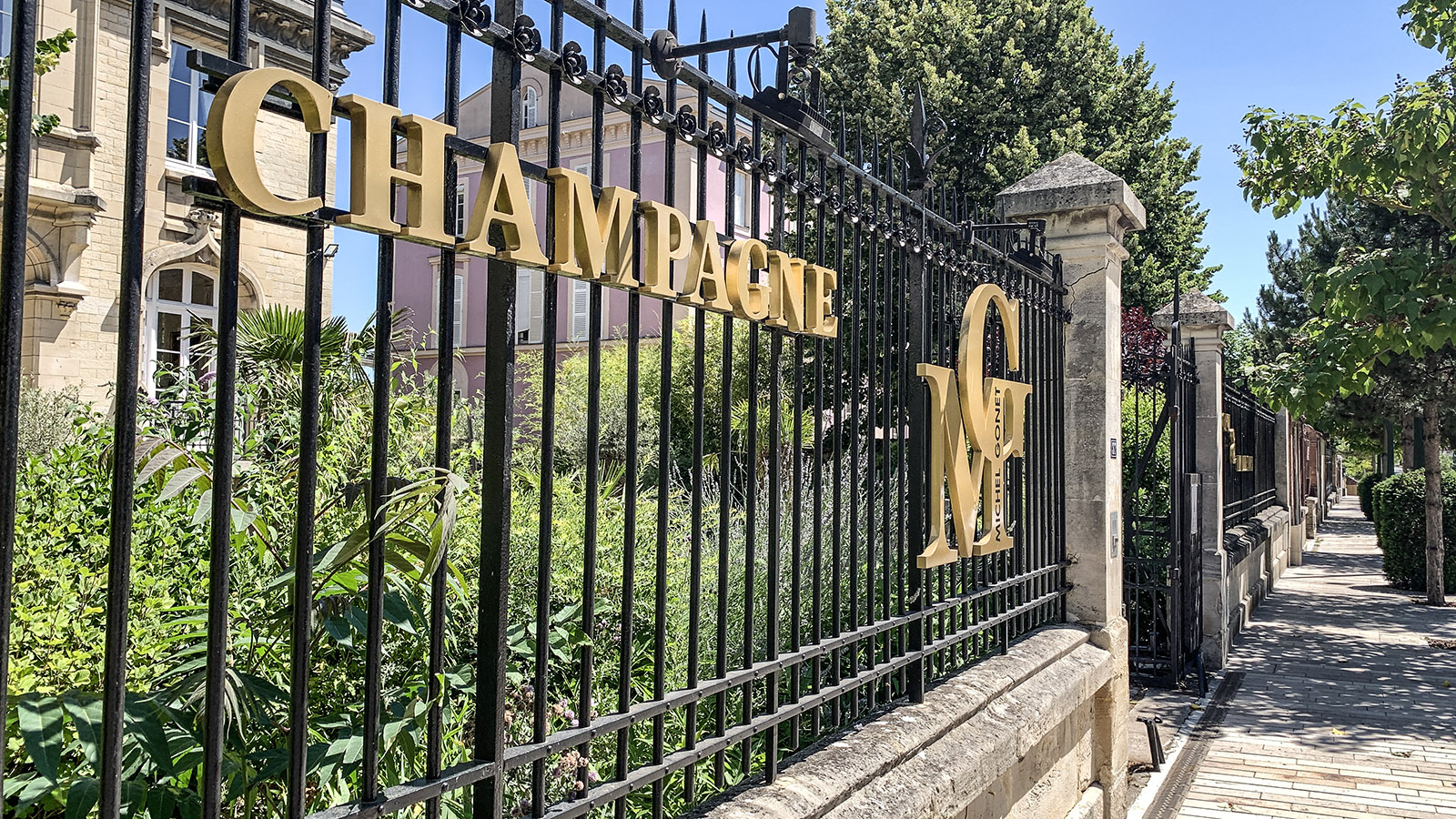 Épernay: Champagne Michel Gounet. Foto: Hilke Maunder