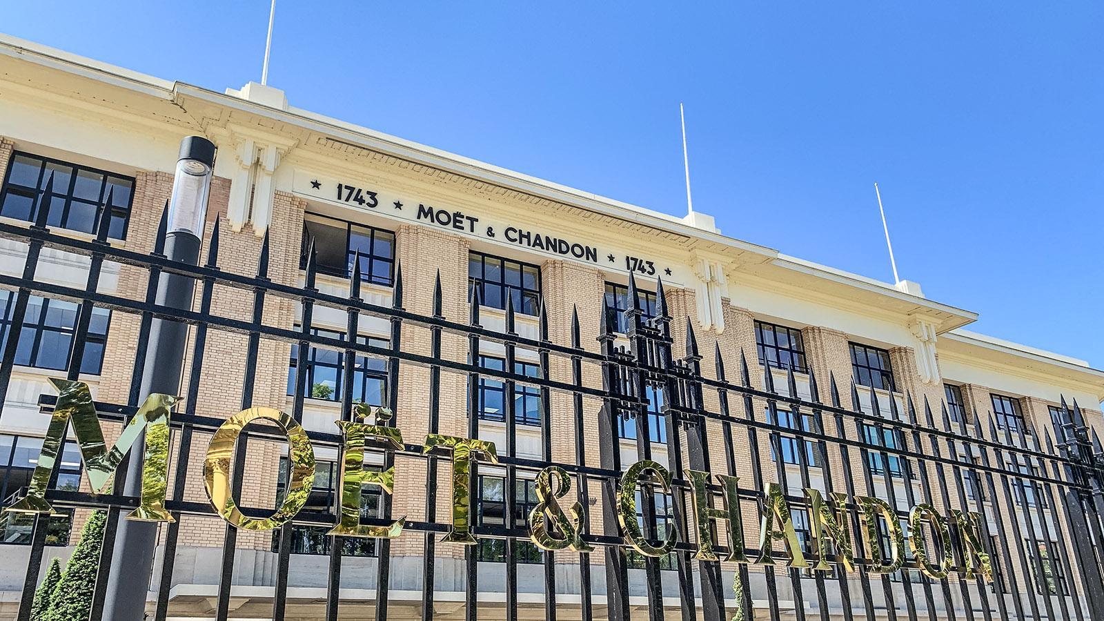 Épernay: Moët & Chandon . Foto: Hilke Maunder