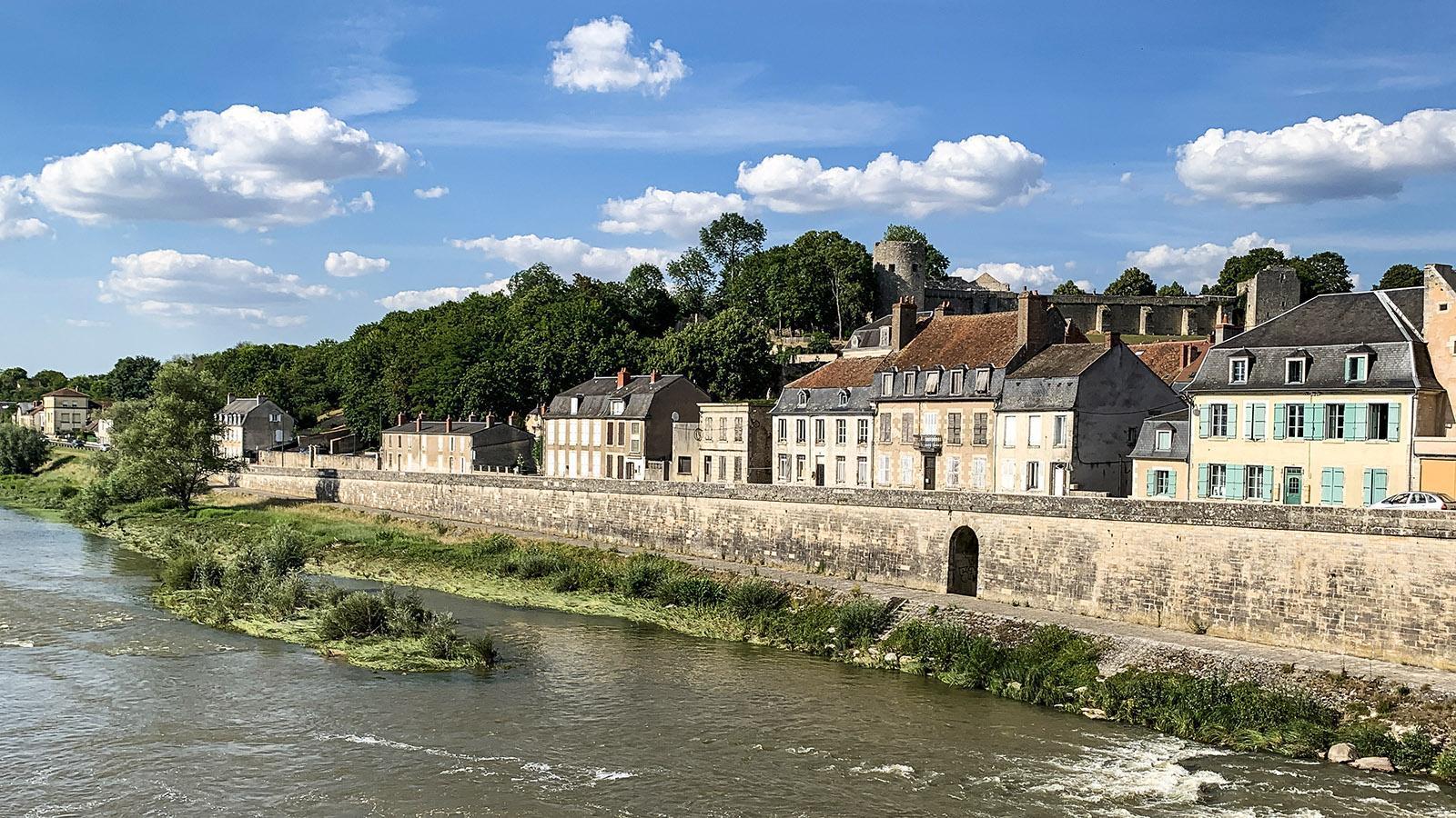 La Charité-sur-Loire: le guichet in der Kaimauer. Foto: Hilke Maunder