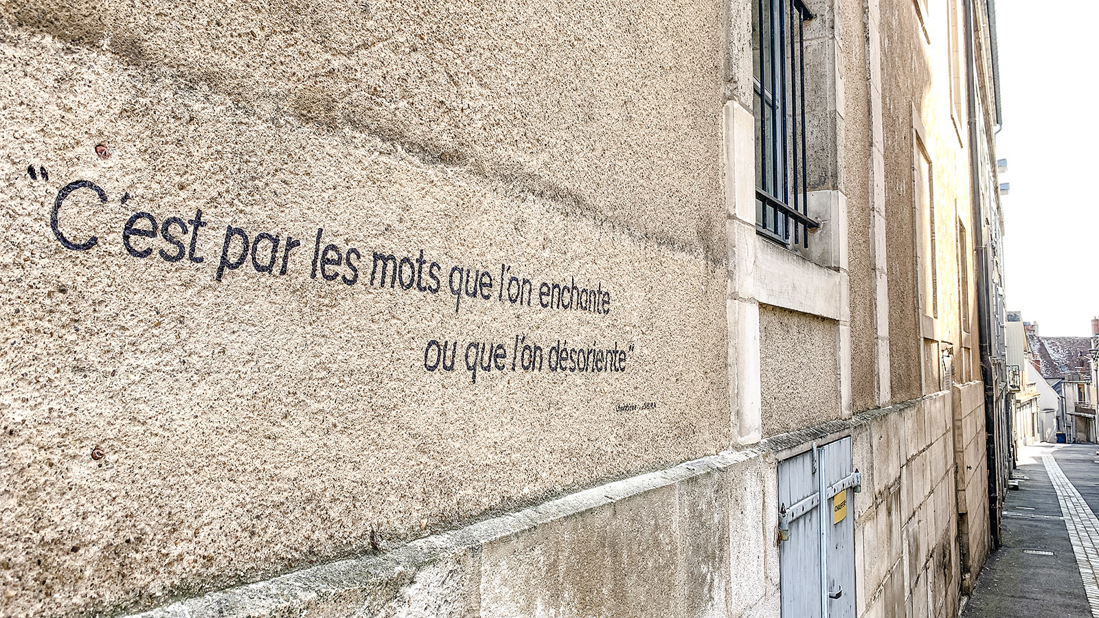 La Charité-sur-Loire. Foto: Hilke Maunder