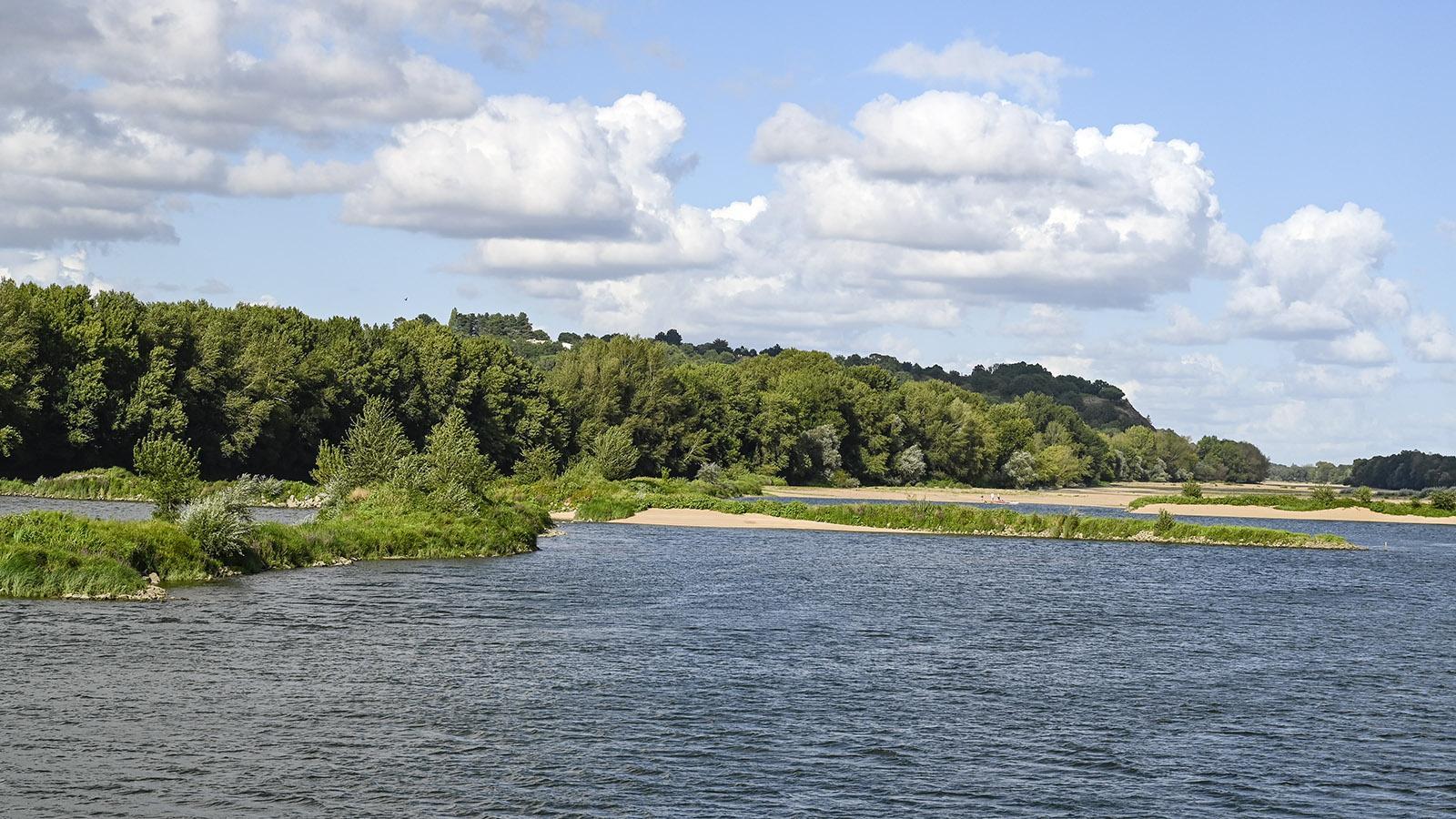 Gefahr beim Navigieren: die Sandbänke der Loire. Foto: Hilke Maunder