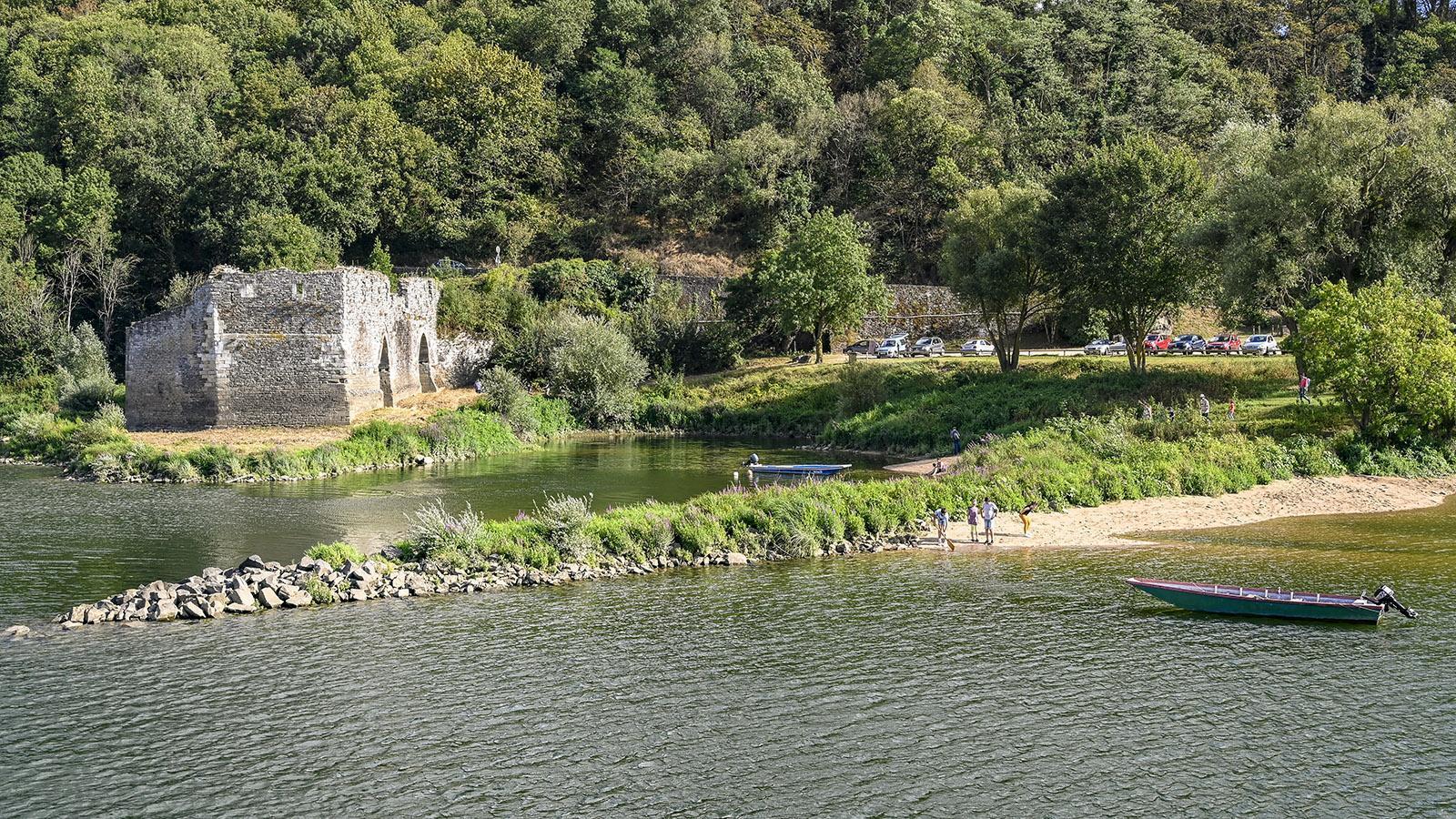 Die Loire bei Champtoceaux. Foto: Hilke Maunder
