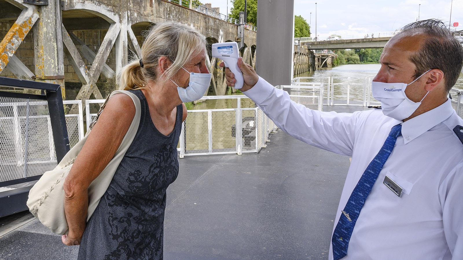 MS Loire Princesse, Temperaturkontrolle. Hilke Maunder