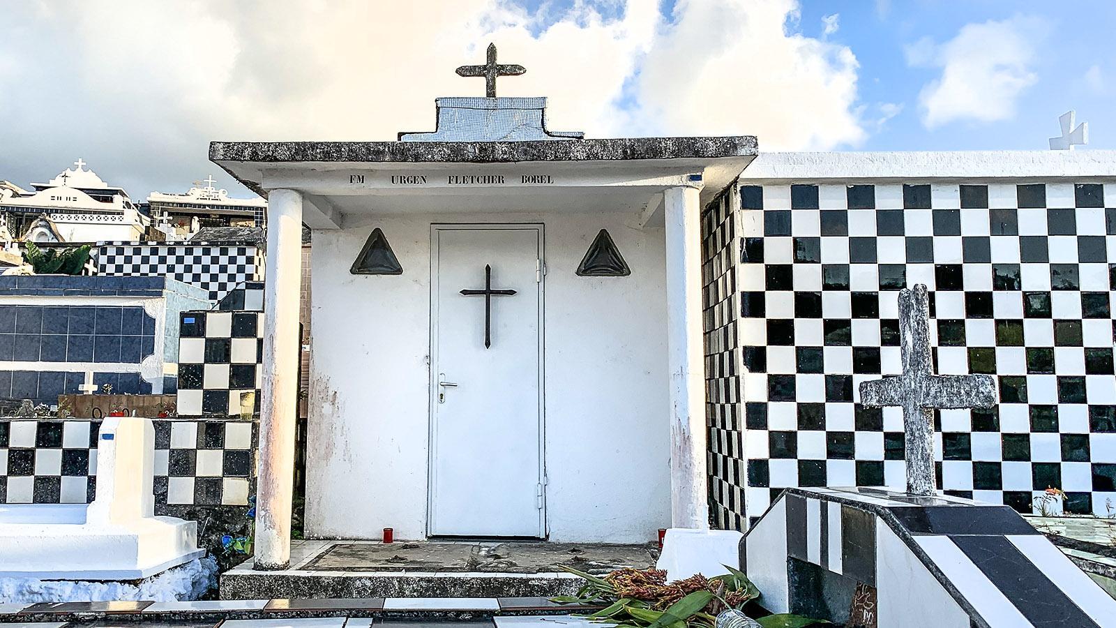 Der Friedhof von Morne-à-l'Eau. Foto: Hilke Maunder
