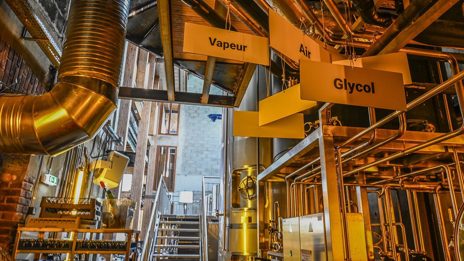 Nantes-Chantenay: In der LIttle Atlantique Brewery wird der Gerstensaft vor Ort gebraut. Foto: Hilke Maunder