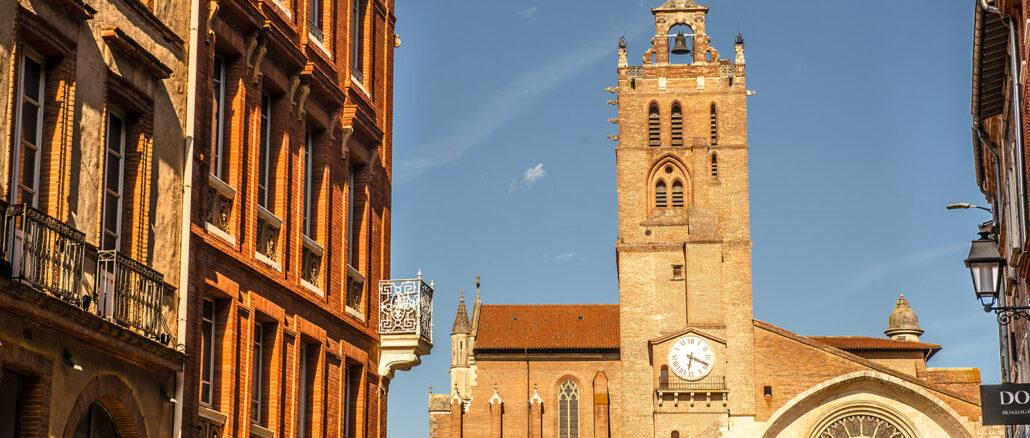 Die Kathedrale Saint-Étienne von Toulouse. Foto: Hilke Maunder