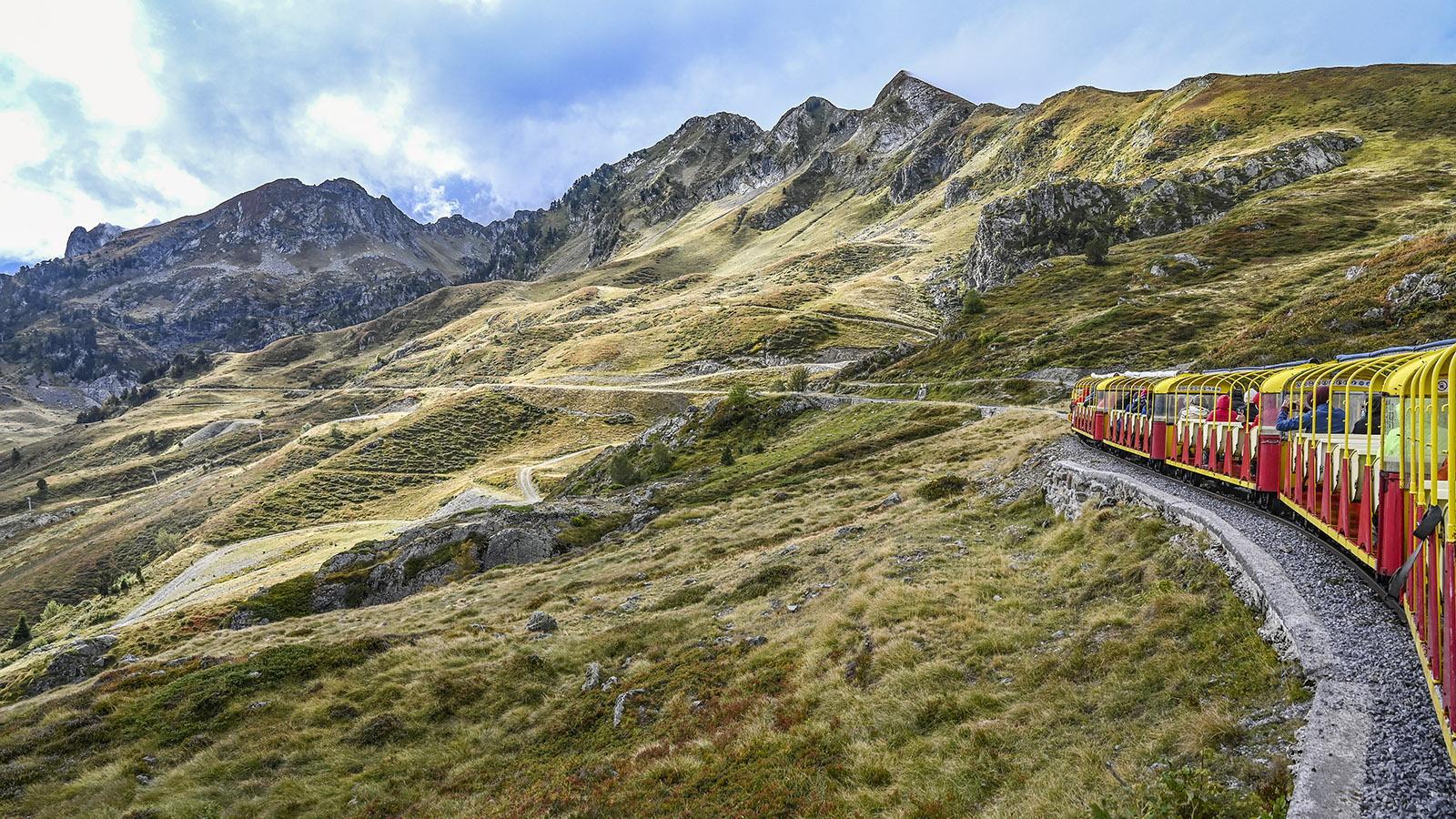 Le Petit Train d'Artouste. Foto: Hilke Maunder