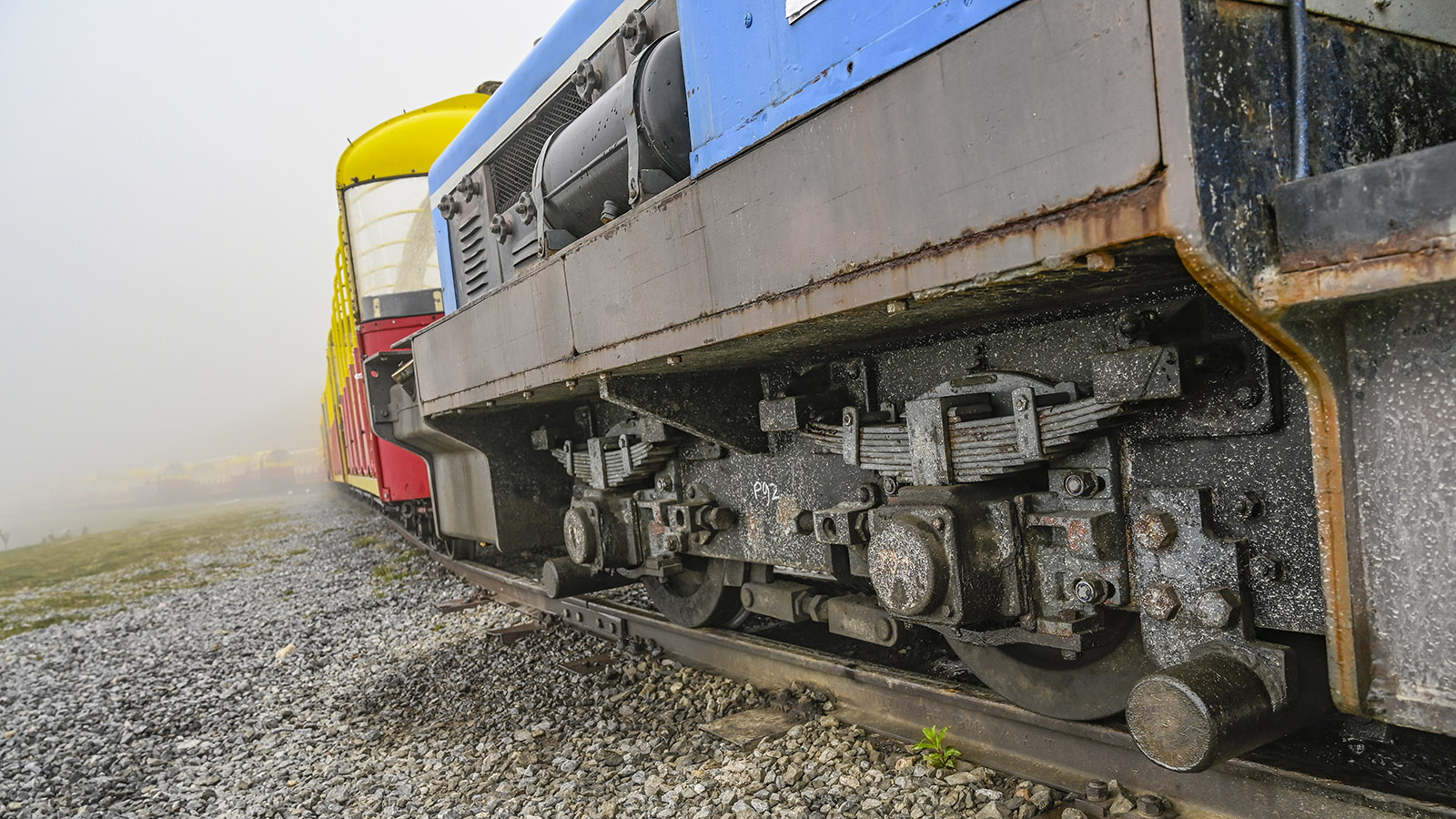 Le Petit Train d'Artouste: gebaut für alle Wetter.Foto: Hilke Maunder