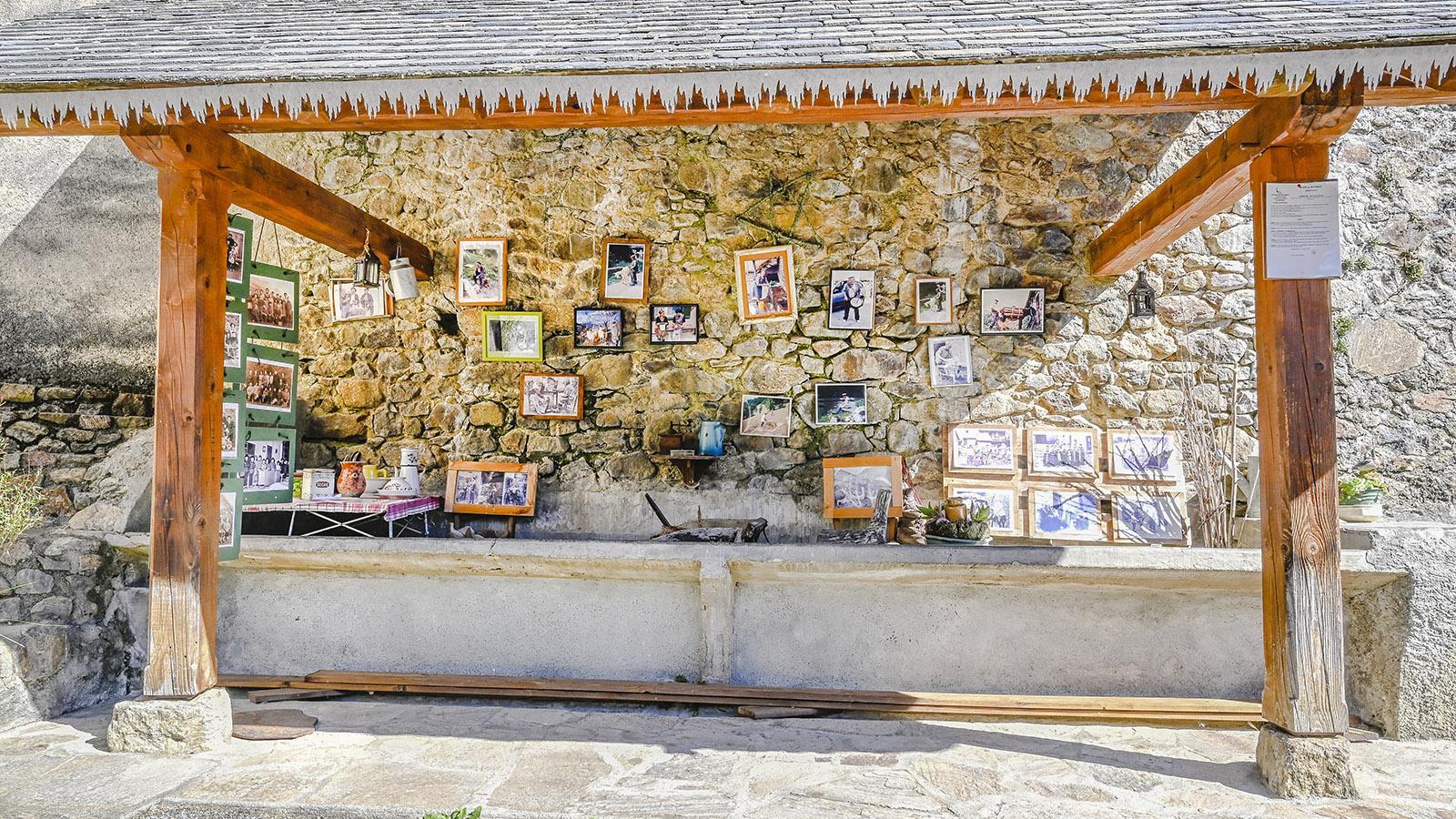 Das Waschhaus von Ayet bewahrt heute die Erinnerungen an das Landleben von einst im Tal von Bethmale. Foto: Hilke Maunder