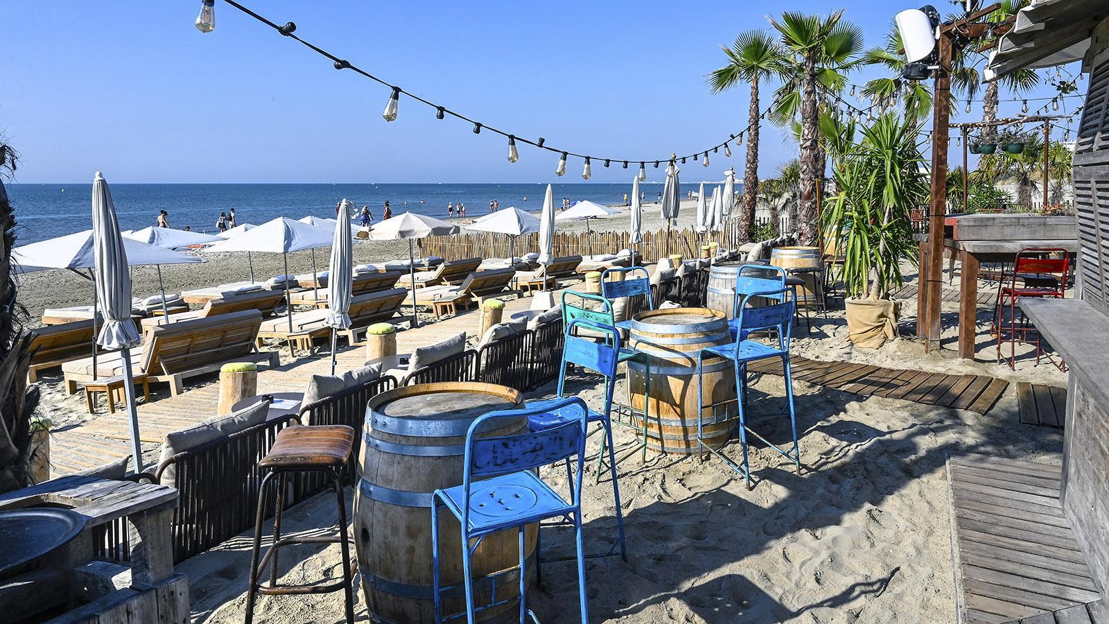 effet mer ist für viele der beste Strandclub von La Grande Motte. Foto: Hilke Maunder